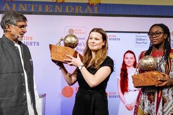 Greta Thunberg obtient un prix international aux Pays-Bas