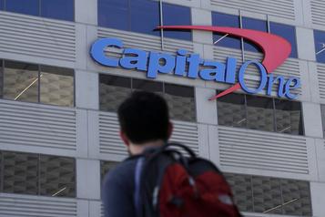 Vol de données: amende de 80millions pour Capital One)