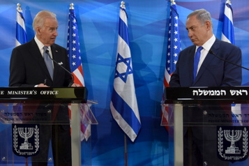 Crise israélo-palestinienne Joe Biden a parlé avec Benyamin Nétanyahou et Mahmoud Abbas )