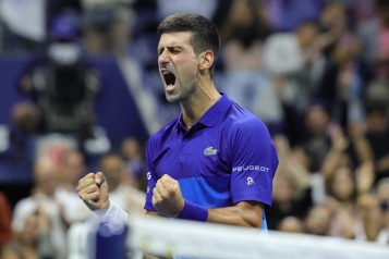 Internationaux des États-Unis Novak Djokovic en finale)