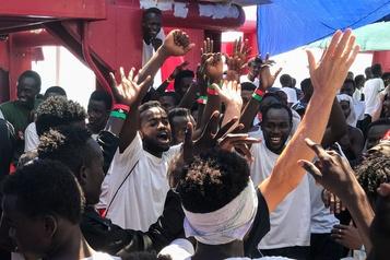 Ocean Viking: les 356 migrants finalement autorisés à débarquer
