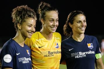 Le soccer professionnel féminin de retour dès le 27juin )