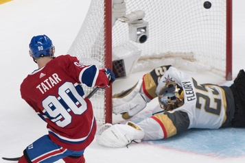 Le Canadien bat les Golden Knights 5-4 en fusillade