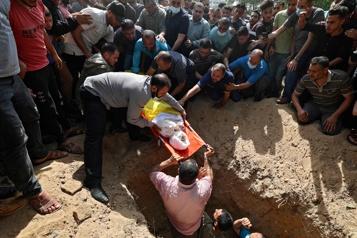 Dix enfants fauchés par la riposte d'Israël sur Gaza)
