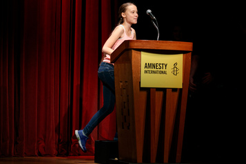 Greta Thunberg «ambassadrice de conscience» d'Amnistie internationale