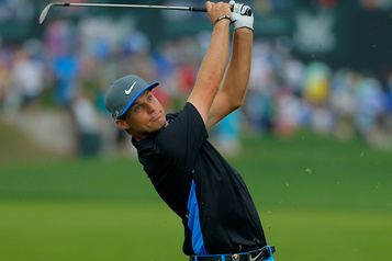 Nick Watney, 1erjoueur positif sur le circuit PGA)