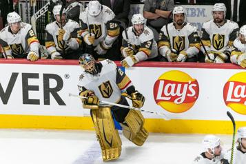 1re période de prolongation Golden Knights2— Canadien2)