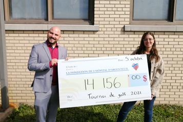 14 000$ pour l'Hôpital d'Argenteuil