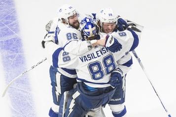 Le Lightning à une victoire de la Coupe Stanley)