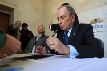 Présidentielle: Bloomberg met 100millions dans des publicités anti-Trump