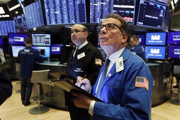 Plongeon des marchés boursiers nord-américains
