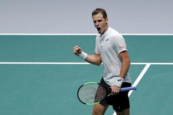 Coupe Davis: Vasek Pospisil cause une autre surprise