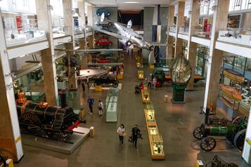 Les Londoniens découvrent le plaisir des musées déserts)