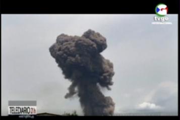 Explosions dans un camp militaire de Guinée équatoriale: 98 morts, 615blessés )