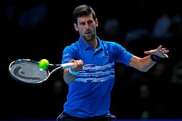 Novak Djokovic gagne son premier match à Londres