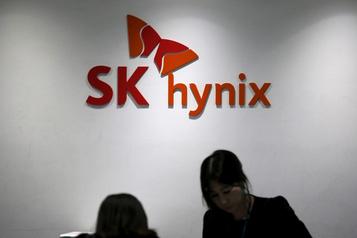 Transaction de 9milliardsUS SK Hynix acquiert l'activité de puce-mémoire NAND d'Intel)