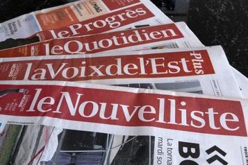 Le Soleil et d'autres journaux suspendent leurs publications papier