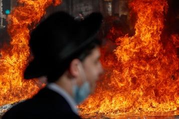 Restrictions en Israël Nouveaux heurts entre juifs ultra-orthodoxes et la police)