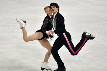 Gilles et Poirier finissent au quatrième rang en danse)