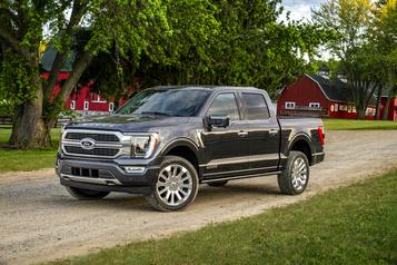 F-150 2021: Ford présente la 14egénération de son best-seller)