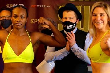Boxe Marie-Ève Dicaire, 24heures avant de monter dans le ring)