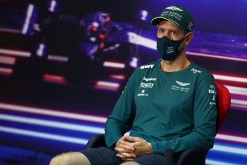 Aston Martin Racing Un début laborieux pour Sebastian Vettel)
