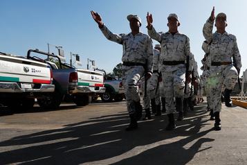 Le Mexique renforce la sécurité à sa frontière avant l'arrivée de migrants