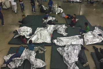 Plus de 100000 enfants en détention en lien avec l'immigration
