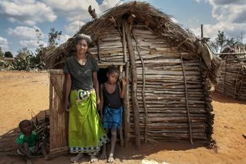 Sécheresse Des villages étranglés par la famine à Madagascar)