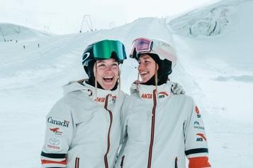 Ski acrobatique Six mois sans skis pour les sœurs Dufour-Lapointe)