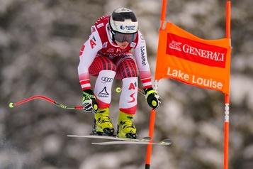 Nicole Schmidhofer gagne la descente à Lake Louise