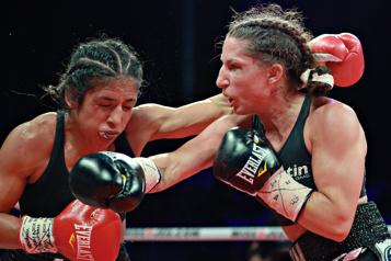 Boxe La victoire de Kim Clavel ternie par un drame)