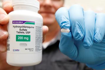 COVID-19: les prescriptions d'hydroxychloroquine ont presque doublé aux États-Unis en mars)