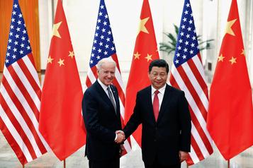 Le président chinois Xi Jinping félicite Joe Biden)