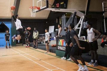 Institut de sport Dynastie «Pour nos jeunes, c'est énorme» )