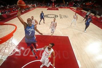 Basketball  Les États-Unis balaient l'Espagne et font de nouveau peur)