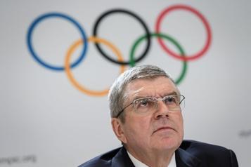Comité international olympique Bach est le seul candidat à la présidence)