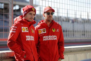 F1: une dernière passe d'armes entre Vettel et Leclerc à Abou Dabi?