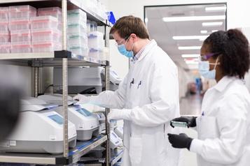 Capitalisation record pour la biotech Moderna)