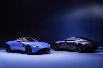Une nouvelle version Roadster pour l'Aston Martin Vantage