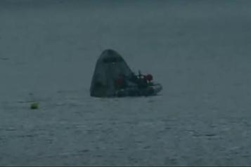SpaceX Les quatre touristes spatiaux amerrissent au large de la Floride)
