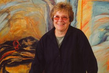 Mort de la peintre Monique Voyer)