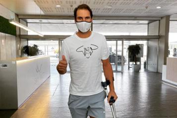 Rafael Nadal encore absent des courts plusieurs semaines)
