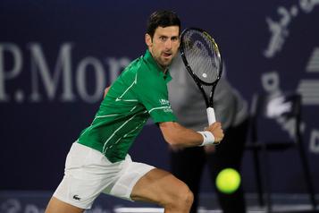 Djokovic et Tsitsipas en quarts de finale à Dubaï