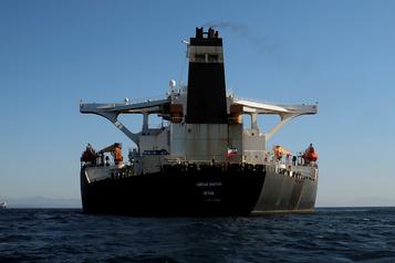 Le pétrolier iranien «trop grand» pour entrer dans un port grec, selon Athènes
