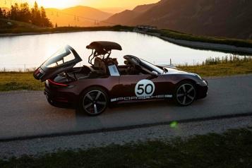 Rapides et exclusifs La Porsche911 Targa, à l'ombre des circuits)
