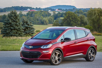 Chevrolet Surchauffe de batteries : GM rappelle 8000 Chevrolet Bolt)