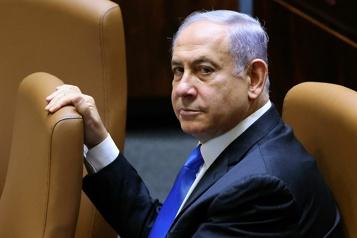 Israël Benyamin Nétanyahou écarté du pouvoir)