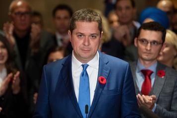 Scheer veut relancer les travaux du Parlement le 25 novembre