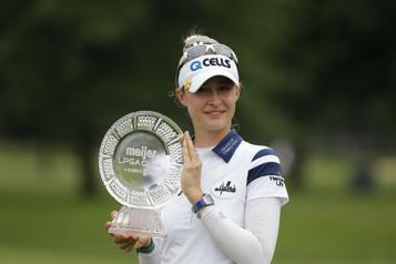 Une deuxième victoire cette saison pour l'Américaine Nelly Korda)